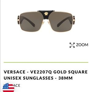 Versace sun glasses and purse
